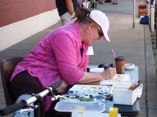 Kathi Butorac at Quick Draw