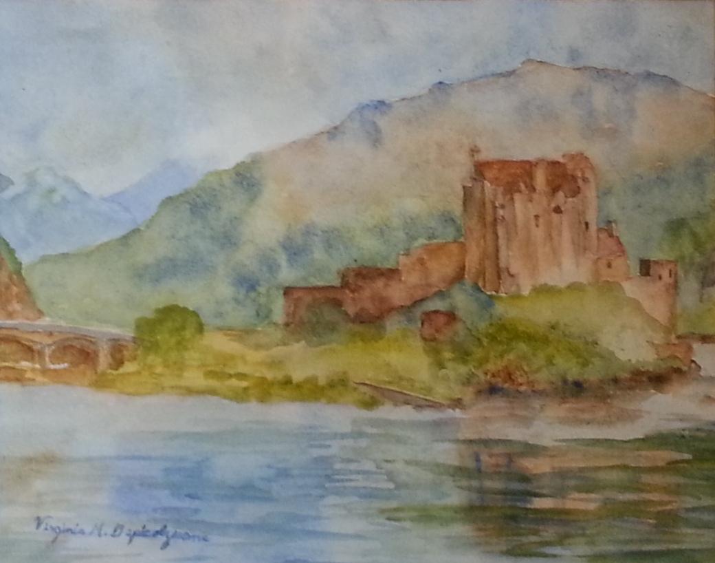 Eilean Donan Castle in Scotland by Virginia Depicolzuane