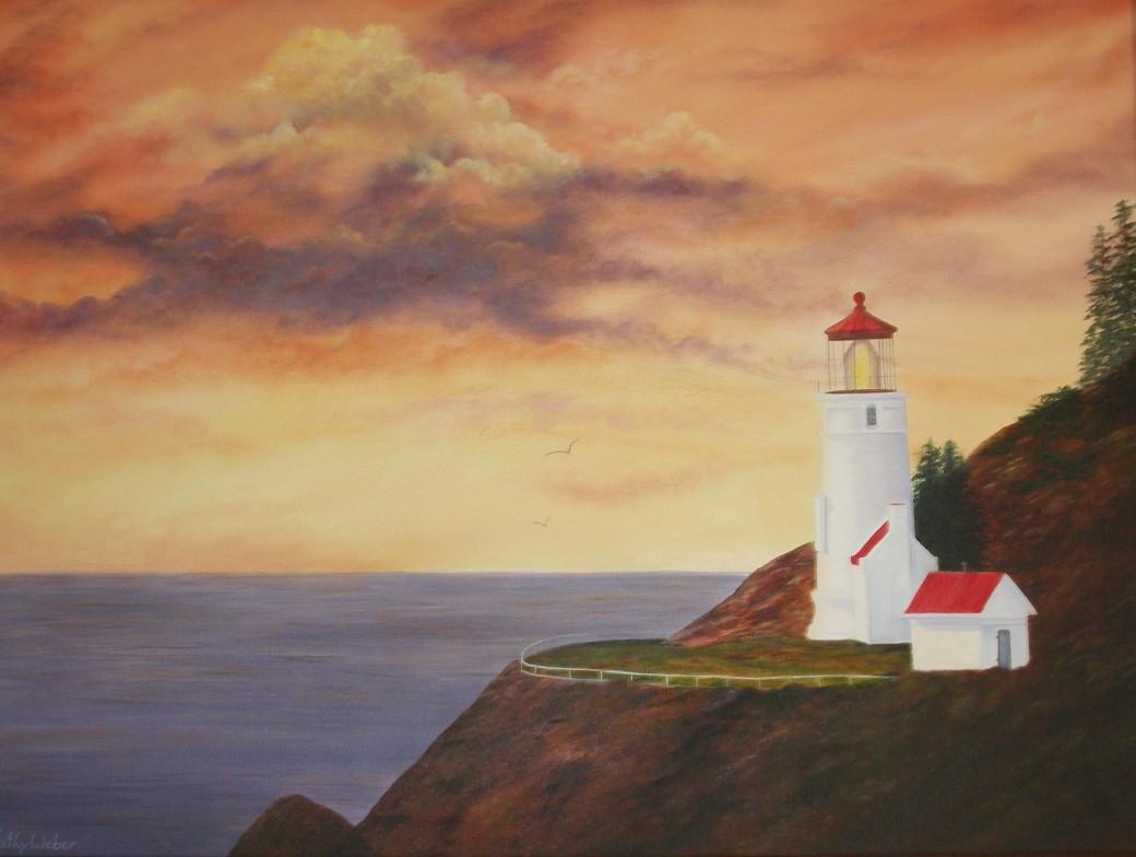 Lighthouse by Kathy Weber