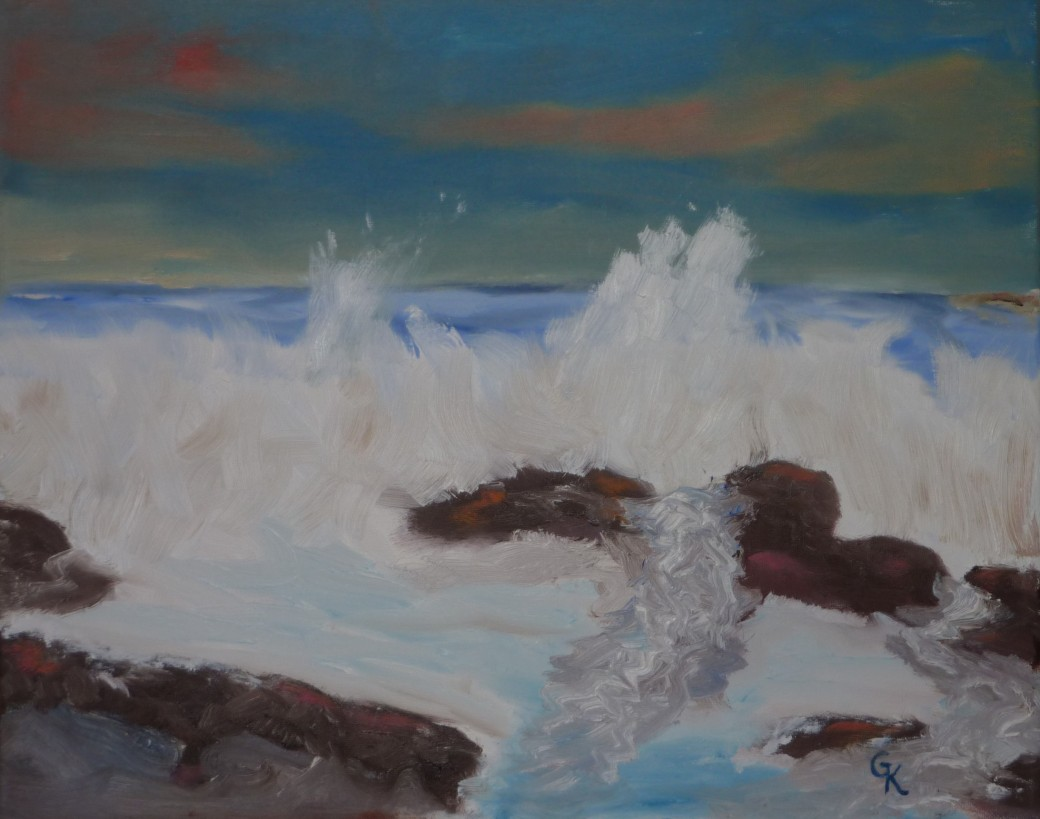 ocean full of tears by Gerald Kauzlarich