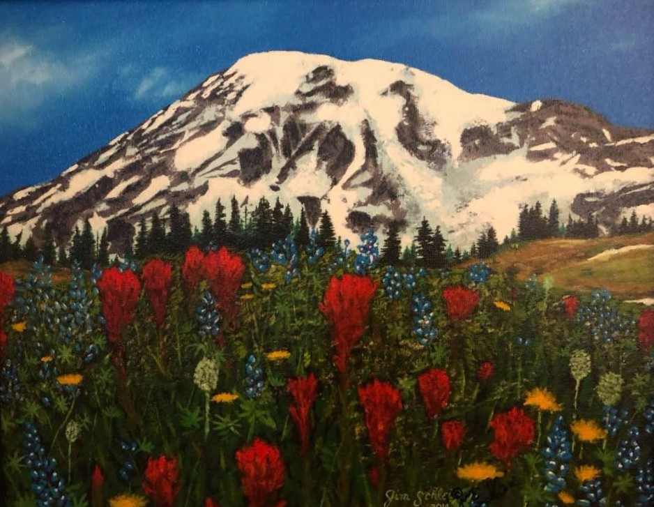 Summer Mountain Flowers by Jim Schleis